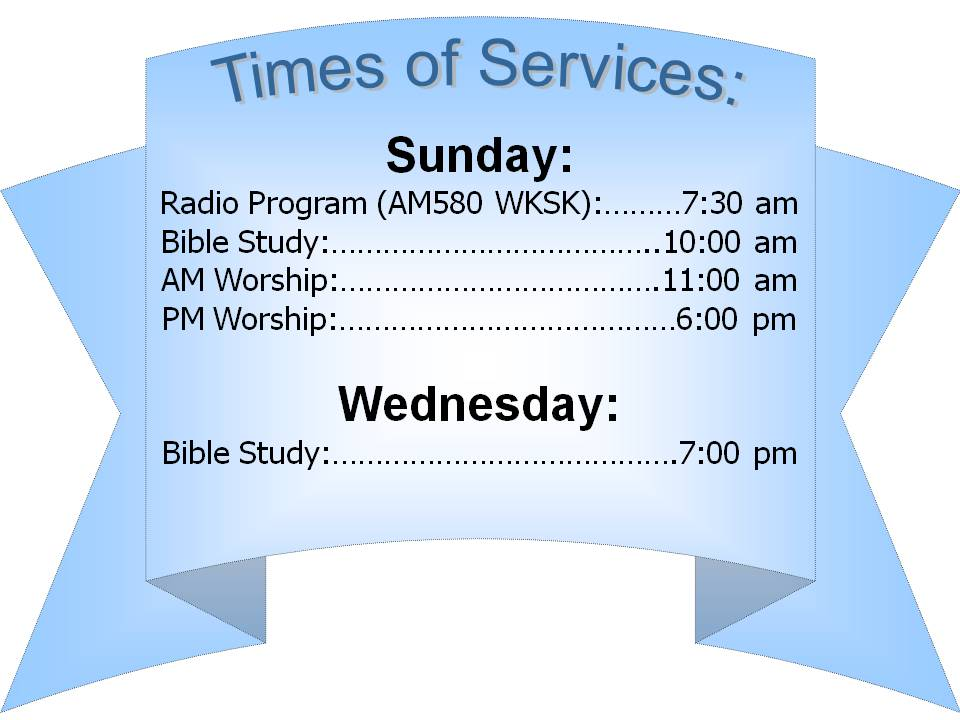 Times of services 3